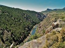 Rivière de Gunnison Photographie stock libre de droits