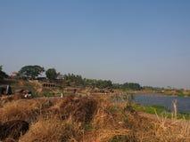 Rivière de Hampi Image libre de droits