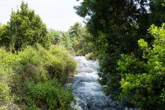 Rivière de Hasbani photos libres de droits