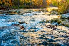 Rivière de Hocking en Ohio Images libres de droits