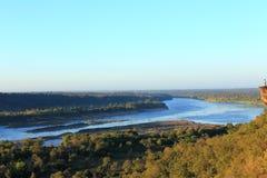 Rivière de Khong Images libres de droits
