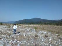 Rivière de koshi de Girjiya Photo stock