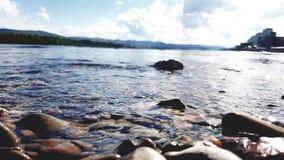 Rivière de Krsk Photographie stock libre de droits