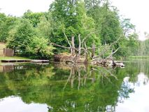 Rivière 2 de Krutynia Image libre de droits
