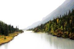 Rivière de l'Alaska Image libre de droits