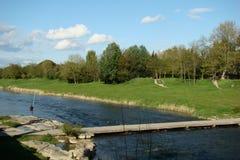 Rivière de l'Aude Image libre de droits