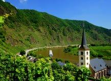 Rivière de la Moselle photographie stock libre de droits
