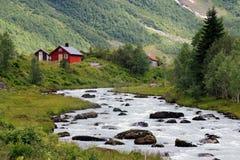 Rivière de la Norvège Image libre de droits