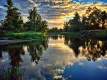 Rivière de Liwiec Photographie stock