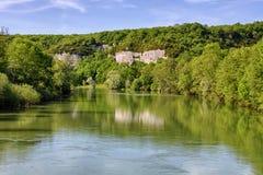 Rivière de Loue Photos libres de droits