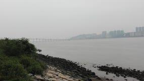 Rivière de Macao Photographie stock