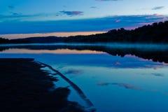 Rivière de matin Images stock