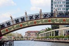 Rivière de Melaka Photo libre de droits