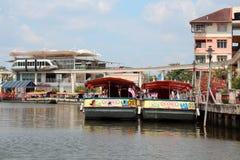 Rivière de Melaka Photo stock