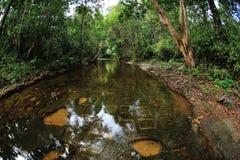Rivière de mille lingams Photos libres de droits