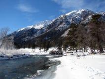 Rivière de montagne photos libres de droits