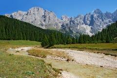 Rivière de montagne Image stock