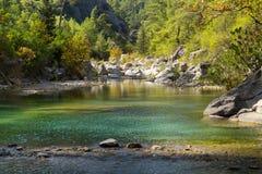 Rivière de montagne Images libres de droits
