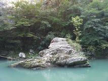 Rivière de montagnes photos stock
