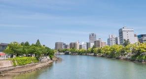 Rivière de Motoyasu photo stock