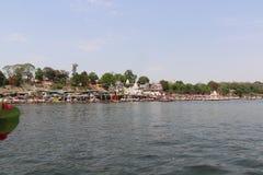 Rivière de Narmada à Jabalpur photographie stock libre de droits