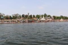 Rivière de Narmada à Jabalpur image libre de droits