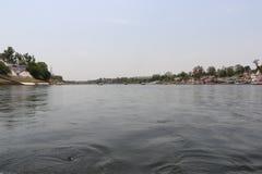 Rivière de Narmada à Jabalpur photographie stock