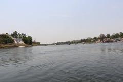 Rivière de Narmada à Jabalpur images stock