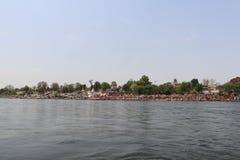 Rivière de Narmada à Jabalpur photos stock