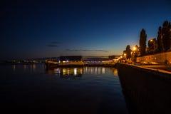 Rivière de nuit Image stock