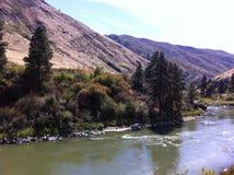 Rivière de Payette, Idaho Photos libres de droits