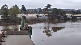 Rivière de Petaluma image libre de droits