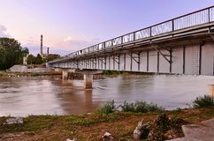 Rivière de pont Photos stock