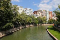 Rivière de Porsuk à Eskisehir Photographie stock