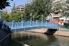 Rivière de Porsuk à Eskisehir Photographie stock libre de droits