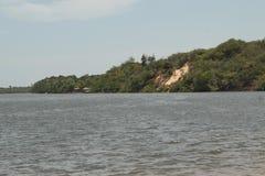 Rivière de Preguiça, Barreirinhas, mA, Brésil Photo stock