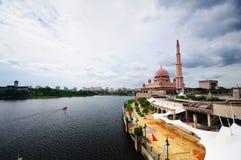 Rivière de Putrajaya Photographie stock libre de droits