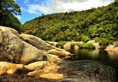 Rivière de région sauvage Photos libres de droits