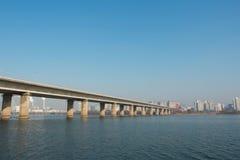 Rivière de Séoul Photo libre de droits