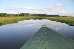 Rivière de Shire, parc national de Liwonde, Malawi images libres de droits