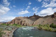 Rivière de Shoshone Images libres de droits