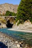 Rivière de Shotover, Nouvelle-Zélande Photos libres de droits