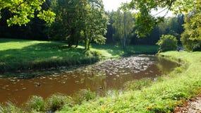 Rivière de Slavyanka Photographie stock libre de droits