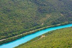 Rivière de Soca Image libre de droits