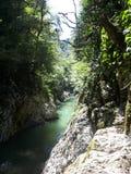 Rivière de Sotchi images stock
