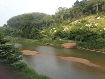 Rivière de Sri Lanka images stock