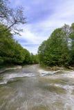 Rivière de Stryj photo libre de droits