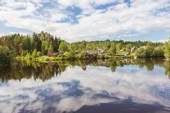 Rivière de Svir La Carélie Russie Photo stock