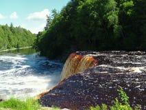 Rivière de Tahquamenon - Michigan photos stock
