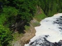 Rivière de Tahquamenon - Michigan images libres de droits
